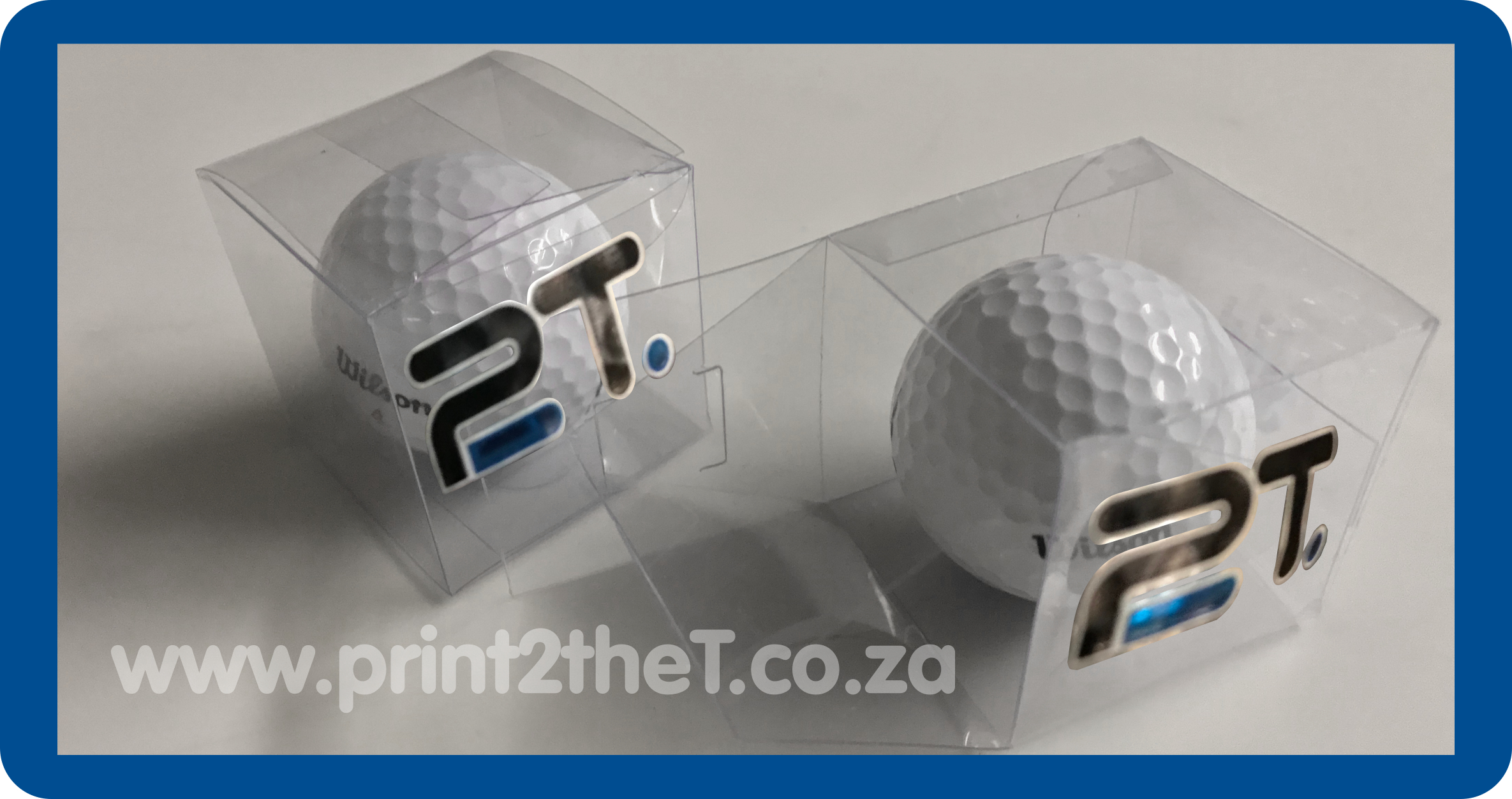 Printed Golf Ball Boxes - Golf in a box