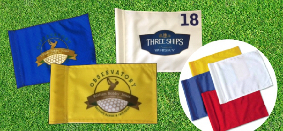 Printed Golf Flags and Bibs